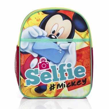 Mickey mouse kinder rugtas selfie