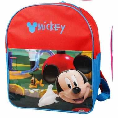 Rode disney mickey mouse rugtas kind