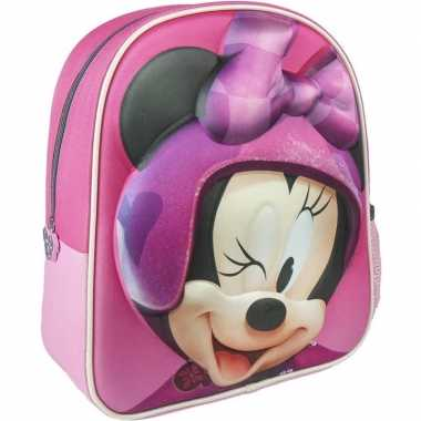 Roze minnie mouse rugtas/rugtas meisjes kind
