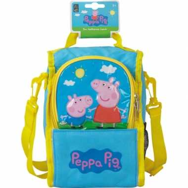 Rugtas peppa big kinder koeltas/lunchtas