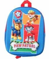 Kinder rugtasje paw patrol