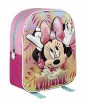 Minnie mouse rugtasje d gekleurd kinderen